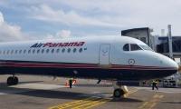 El vuelo cubrió la ruta Ciudad de Panamá - Santa Marta - Ciudad de Panamá.