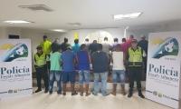 Los capturados comercializaban gasolina que traían ilegalmente desde Venezuela.