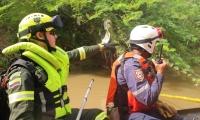 Rescatistas recorrieron cerca de siete kilómetros del río Minca o Gaira.