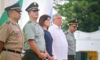 El acto se llevó a cabo en la Quinta de San Pedro Alejandrino.