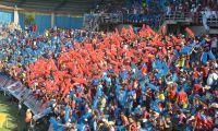 Con el Estadio Sierra Nevada lleno el Unión ganó.