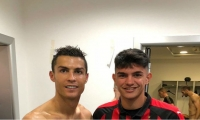 Cristiano Ronaldo y Raoul Bellanova