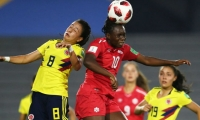 Colombia cayó 3-0 ante Canadá.