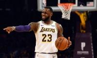 La estrella de los Lakers pasó del séptimo puesto al quinto en la clasificación histórica de encestadores.