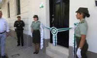 Inauguración del centro de conciliación.