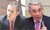 Iván Duque y Álvaro Uribe Veléz
