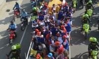 Samarios rinden honor a la plantilla que regresó al Unión a la A.