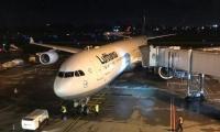 El avión de Lufthansa se desvió de su ruta original por el mal tiempo en Bogotá.
