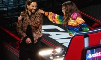 Anitta y Maluma en ´La Voz´ Mexico