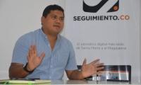 Fabio Manjarrés, gerente de Proyectos del Magdalena.