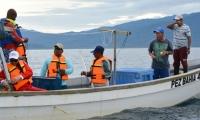 Pescadores de Ciénaga estuvieron en el Pacífico aprendiendo cómo realizar su actividad de manera integral.
