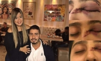 Daniela Ahumada Comas y Mateo Cabrera Urueta.