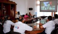 La reunión, que se realizó en la Sala de Juntas del Despacho de la gobernadora Rosa Cotes y contó con la asistencia de los alcaldes de los municipios beneficiados.