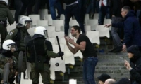 Altercados en Atenas por partido Ajax Vs. AEK