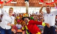 Más de 200 personas de la tercera edad provenientes de las diferentes subregiones del Magdalena disfrutaron el encuentro.