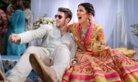 El cantante Nick Jonas y la actriz Priyanka Chopra.