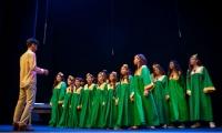 Coro Distrital conformado por los niños de la Efac