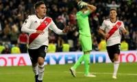 Juan Fernando Quintero marcó el segundo gol del River.