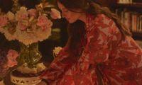 La bella samaria disfrutó de cada detalle de la celebración.