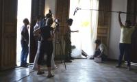 Imágenes de grabaciones en Ciénaga