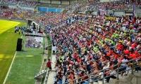 El estadio Sierra Nevada sería entregado en diciembre a la Alcaldía, y esta lo da por terminado ante la comunidad en enero.