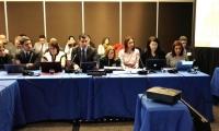 Comisión durante sesión.