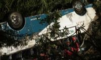 Este es el segundo autobús internacional que se accidenta en Ecuador desde agosto.