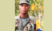 El jefe de Estado confirmó que el jefe de las disidencias de las Farc fue dado de baja en una operación conjunta del Ejército, la Policía y la Fiscalía.