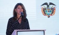 Marta Lucía Ramírez, vicepresidenta.