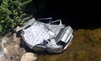 Carro accidentado en vías del Cesar.