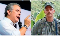 Iván Duque y alias 'El Paisa'