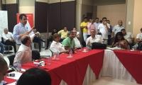 La reunión se realizó en Barranquilla con representantes de los departamentos del Caribe.