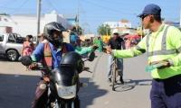 Se realizaron campañas pedagógicas en distintos sectores del municipio con los diferentes. actores de la movilidad