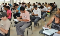 Miles de jóvenes se presentan cada semestre a la admisión de los programas de la Universidad del Magdalena.