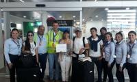 Este hecho fue celebrado en el aeropuerto con la pasajera número dos millones, quien fue reconocida por la Concesión como una de las viajeras insignias para el terminal aéreo Simón Bolívar.