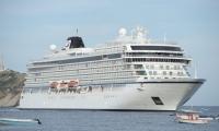 La llegada del crucero Insignia estaba programada para la mañana de este domingo.
