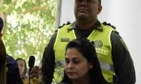 Dayana Jassir dijo sentirse mal por eso la audiencia fue suspendida.