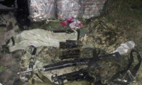 Dinero y armas encontrados tras el robo de una avioneta en Aguachica.