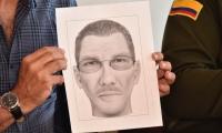Este es el retrato del tercer involucrado en el atentado.