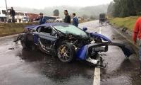 El accidente ocurrió en la mañana de este domingo en el kilómetro 73 del municipio de Villa Pinzón.