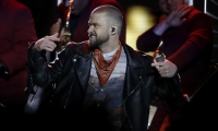 Justin Timberlake fue la estrella principal del Súper Bowl.