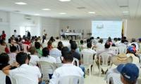 Socialización del proyecto de alcantarillado de Fundación, Magdalena.