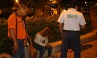 Operativos de control a trabajadoras sexuales en el Centro.