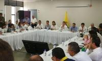 Juan Manuel Santos, se reunió con su gabinete en Cúcuta para analizar la situación de los venezolanos en Colombia y buscar posibles soluciones.