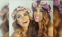 Vaneza Peláez y Daniela Ospina.