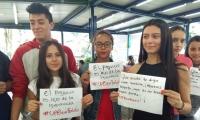 Estudiantes de la Universidad Pontificia Bolivariana de Medellín convocarán a una manifestación.