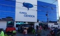 La víctima fue estabilizada por los médicos de la clínica Cehoca.