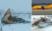 El avión se estrelló entre las localidades de Arguntsevo y Stepanovo, en la provincia de Moscú.