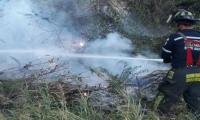 En las últimas horas se registraron incendios de cobertura vegetal.