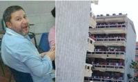 El rector de la Universidad del Atlántico, Carlos Prasca, se refirió a la muerte del docente Teófilo Ernesto Castro Triana.